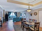 Formal Dining for 6 while you take in the amazing views