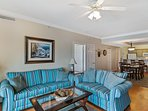 This home features a Queen sofa sleeper for added convenience