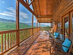 Your Gatlinburg escape begins at this vacation rental cabin with mountain views!