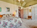 Step into the master bedroom!