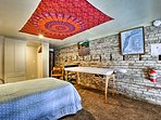 Go for a massage in the Serenity Room in the loft!