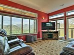 Watch a show on the Smart TV or sit back and enjoy the view through the window.