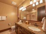 Bunk room bathroom