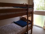 Bunk beds in second bedroom