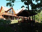 These duplexes are perfect for group retreats.