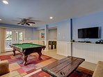 Game Room - Pool & Foosball