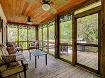 Screened Rear Porch - Designed for Comfort