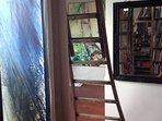 L'atelier de l'artiste aux cent  tapis