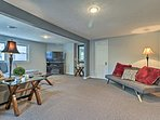 This newly updated 3-bed, 1-bath apartment provides accommodations for 8.