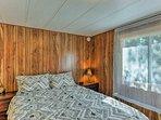 Slip into a deep sleep on the cozy queen mattress.