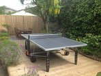 full size all weather table tennis table