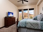 Master bedroom with King main level