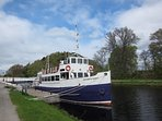 Take a boat trip out to Loch Ness from the Caledonian Canal.