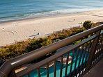 Full Oceanfront Balcony View