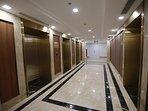 Cooridor and elevator
