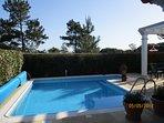 beautiful heated private salt water pool