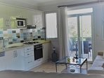 superb new kitchen with all new fridge/freezer/dishwasher/cooker/hob/microwave