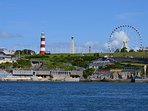 Plymouth Hoe! 40 mins, visit the Barbican