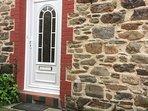 Our front door is the side door!
