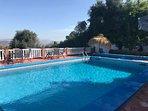 sun terrace with pool