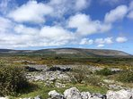 view of Burren just moments from the cottage