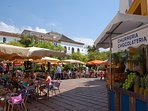 The wonderful Old Town (Casco Antiguo) in Marbella has narrow lanes, fabulous bars and restaurants