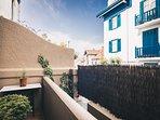 NEGURI apartment in Getxo near the beach - Terrace