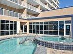Outdoor Pool/Spa Area (Building Side)