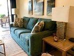 Very comfortable LaZBoy sofa bed.