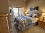 Guest bedroom with Queen bed.