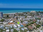 LuLu's Key house is just a short walk away from famous Siesta Key Beach and rests in the village for ease of shopping...