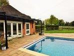 Retreat to this idyllic riverside cottage