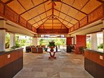 Open Air Lobby at The Beach Villas - 24 hr front desk