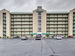 This condo complex is just a block from the Pigeon Forge Parkway!