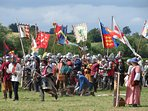 Lots of historical reasons to visit Normandy. Reenactments, castles and William the Conquer