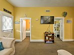Make yourself at home in this 1,400 square feet of living space.
