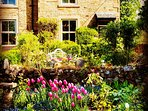 TRADITIONAL COTTAGE WITH PRETTY COTTAGE GARDEN