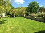 Cottage of Aird - private rear garden