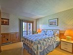 Two lucky guests can claim the queen bed in the master bedroom.
