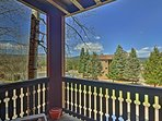 This vacation rental condo for 6 offers 2 bedrooms, 2 bathrooms and great views.