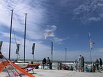 Am Yachtclub Sankt Peter-Ording