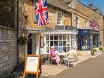 Plenty of tearooms and coffee houses in Stow - bring on the cream tea!