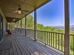 Rock your worries away from the furnished deck.