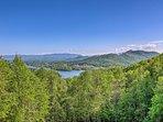Mountain vistas will entice you to go on an alpine adventure!