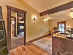 Upper Level Study with Wet Bar