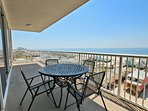 Large Gulf View Corner Balcony
