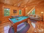 Game Room with Pool Table and Air Hockey