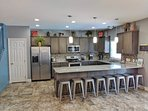 Huge Upscale Fully Equipped Kitchen!