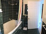 Washroom showing jacuzzi soaker