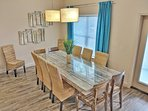 Custom Built Dining Table by a local Artist! Seats 12-14!